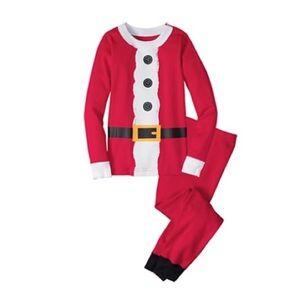 NWT Hannah Andersson Santa 🎅 Long pajama age 4